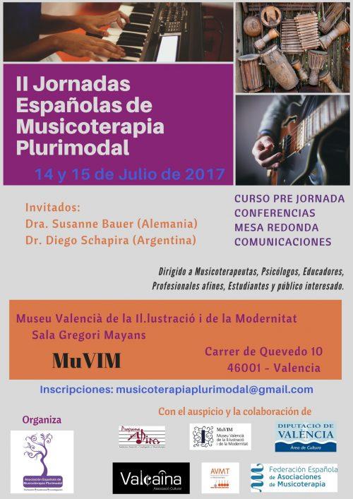 II Jornadas Españolas de Musicoterapia Plurimodal